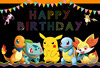 Background Photography Pokemons Birthday Photography Backdrop Boys Photo Background Vinyl Photo Props Photo Background flash sale