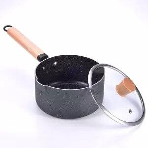 Milk Pot Non stick Pot Small Pot Baby Food Supplement Pot Small Milk Pot Instant Noodle Pot Soup Pot Baby Milk Pot Universal