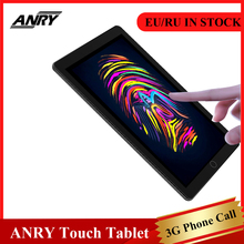 ANRY 3G Phone Call Tablets 10 inch Android 7.0 Touch Screen Quad Core 1GB+16GB Wifi GPS Bluetooth kids Children Learning Phablet ainol ax7 3g phablet 7 inch android 4 4 1gb 16gb