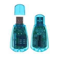 Mini lecteur USB de carte SIM Standard, cloneur de copie, graveur de sauvegarde SMS, GSM/CDMA + CD