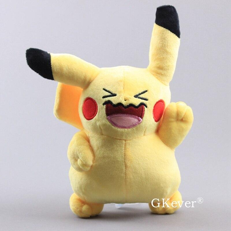20cm Pikachu Plush Toy Stuffed Doll Toys Detective Pikachu Japan