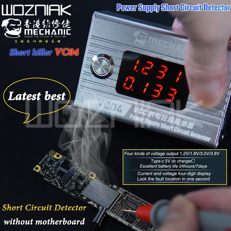 MECHANIC Short Killer Mobile Phone Short Circuit Repair Tool Box For Motherboard Short Circuit Burning Repair Tool Short Kil