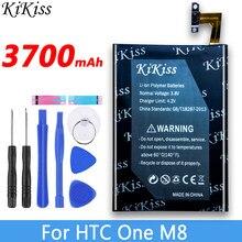 Batterie de téléphone portable haute capacité 3700mAh, pour HTC One M8 One 2 Plus M8x M8w M8t M8d BOP6B100
