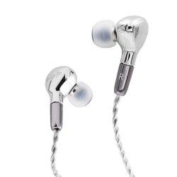 Aurfun YBF-ISS014 diafragma de berilio de 10mm controlador dinámico en el oído auricular IEM con Cable desmontable MMCX