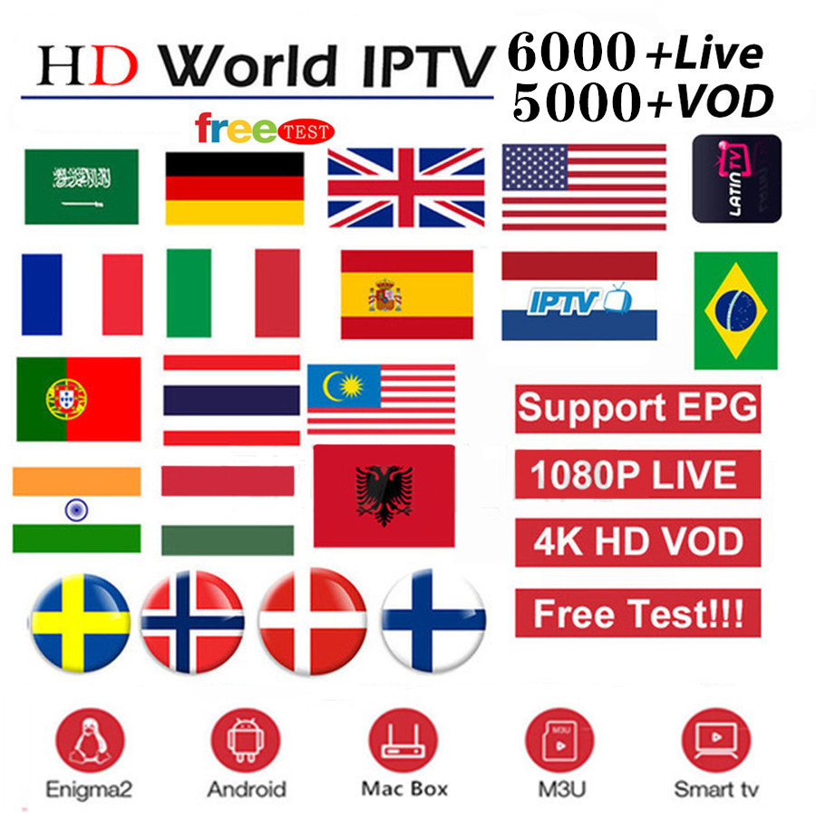 Air IPTV Subscription France Italy Italia Netherlands Arabic Spain Sweden Portugal Nordic Canada USA Android Smart IPTV M3U