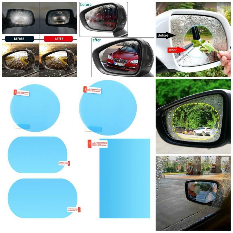 4 шт., водонепроницаемая Защитная пленка для зеркала заднего вида