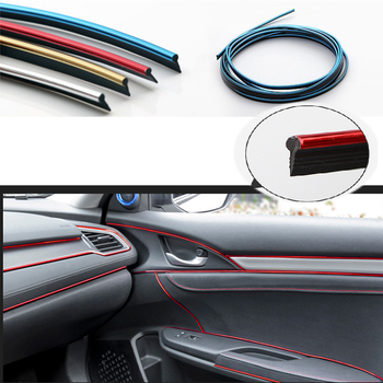 5M Carbon Car Interior Moulding Trim Dashboard Strip For BMW E46 E39 E90 E60 E36 F30 F10 E34 X5 E53 E30 F20 E92 E87 M3 M4 X3 X6 image