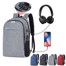Anti- theft Laptop Backpack USB Charging Backbag Travel Bag.