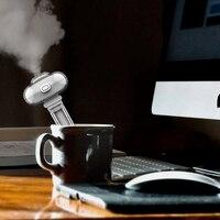 Usb portátil mini umidificador para viagens  luz umidificador escritório  carro e hotel com uma garrafa de água  destacável névoa fria hum|Umidificadores| |  -
