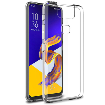 For Asus ZenFone 6 ZS630KL Case IMAK 1.3mm Ultra Thin Skin Clear Silicone Case Zenfone6 ZS630KL Shockproof Soft TPU Back Cover image
