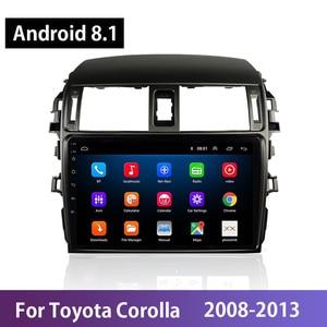 Android 8.1 Car Radio For Toyota Corolla 2008 2009 2010-2013 WIFI 9