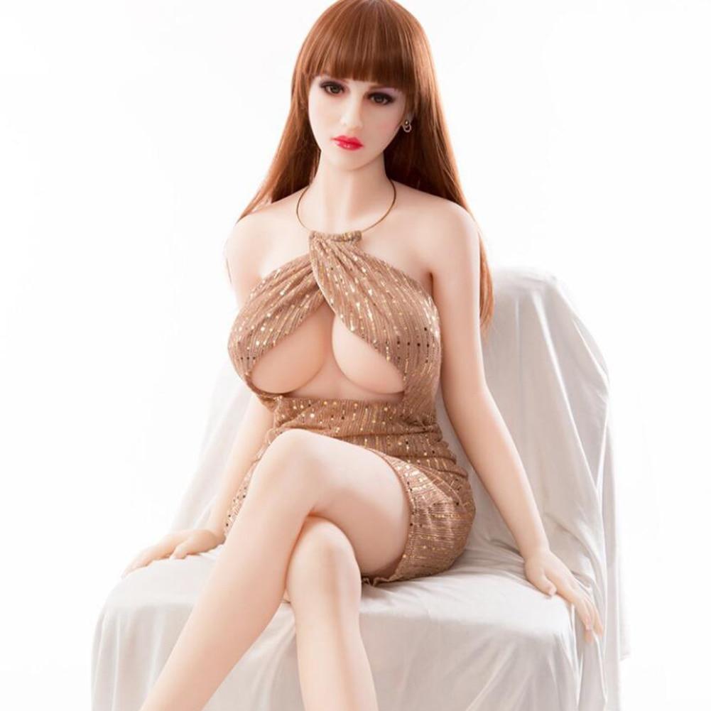H4aeba5d22ad94211982d347d19f4daf40 Sex Doll Sex ual Love Dolls Silicone Realistic adult Male Sex doll TPE Masturbate Oral Sex Toys 157cm Breast Anal Vagina