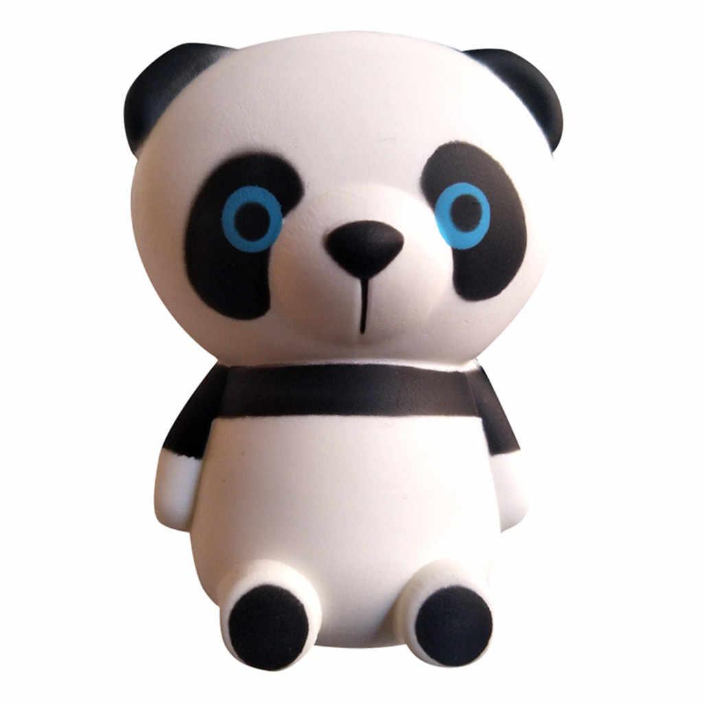 חמוד פנדה איטי עולה ילדים צעצועי בובת מתנה לחסל Antistress אצבע חיות מחמד צעצוע שחרור לחץ איטי ריבאונד צעצוע #