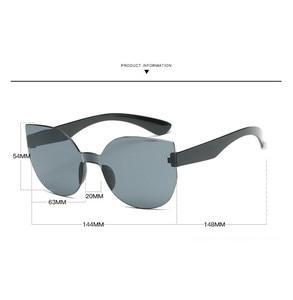 Image 4 - TTLIFEใหม่แฟชั่นผู้หญิงCat Eyeแว่นตากันแดดยี่ห้อDesignerแว่นตาสีCandyกระจกแว่นตาOculos De Sol YJHH0207