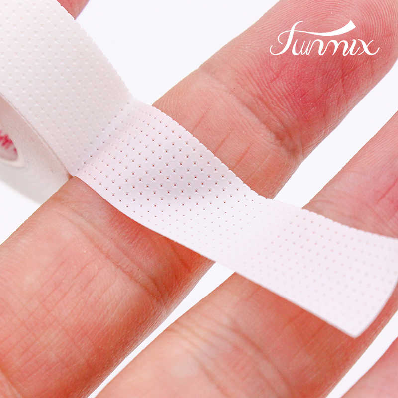 900cm 1 Rolls FUNMIX Breathable Prevent Allergy Medical Tape Eyelash Extension Under Eye Patch