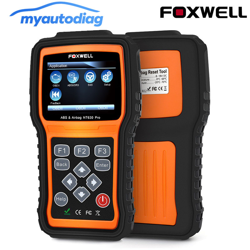OBD 2 Auto Code Reader Scanner Tool FOXWELL NT630 Pro OBD2 Auto Diagnose Scanner Motor ABS Airbag SRS SAS Crash daten Reset