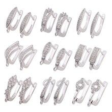 Juya DIY Needlework Material Handmade Luxury Basic Earwire Hooks Accessories For Women Fashion Earrings Jewelry Making Supplies