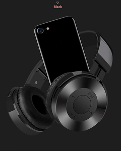Image 2 - Fashion  Wireless Headphones Bluetooth Headset Foldable Stereo Headphone Gaming Earphones With Microphone For PC Mobile phones