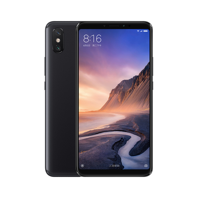 Xiaomi Mi Max 3 4GB 64GB Snapdragon 636 Octa Core Big Display 5500mAh Easy One-hand Use Smart Mobile Phone Max3 2