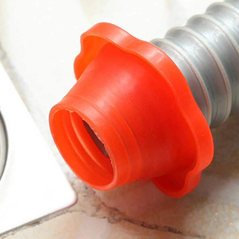 1pcs ห้องน้ำท่อระบายน้ำ Pest Anti-กลิ่นระงับกลิ่นกายซีลซิลิกาเจลแหวนเครื่องซักผ้าสระว่ายน้ำท่อระบายน้ำชั้นปิดผนึกปลั๊ก