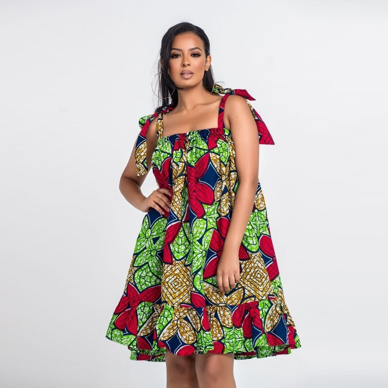Bohemian Style Women Sexy Party Wedding Dresses Plus Size <font><b>Indian</b></font> Clothes Femme <font><b>Sari</b></font> Bazin Dashiki African <font><b>Skirts</b></font> Ankara Costumes image