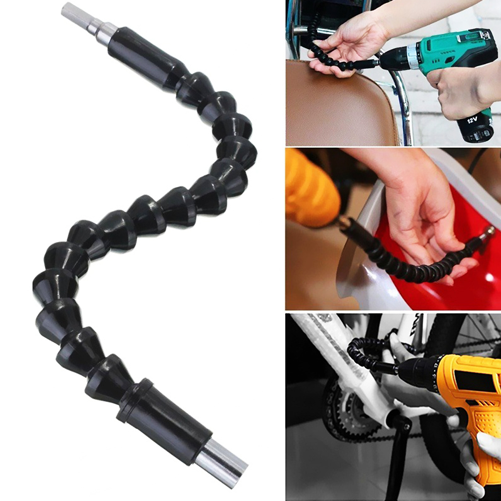 Multi-Angle Bending Drill Bit Extension 295mm Flexible Hex Shaft Drill Bits Extension With Magnetic Connect Drive Shaft 3
