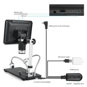 Image 2 - Цифровой 3d микроскоп Andonstar AD207, инструмент для пайки на большие расстояния, для ремонта электронных телефонов/печатных плат/SMD, с функцией вращения изображений