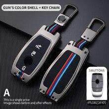 רכב מפתח Case כיסוי מפתח תיק עבור מרצדס בנץ אסי Class W221 W177 W205 W213 רכב סטיילינג Shell במחזיק המפתחות אביזרים