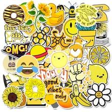 50 PCS Vsco Cartoon Stickers Pack For Kawaii Girl Kids Things Waterproof Rock Stickers On Laptop Fridge Skateboard Suitcase