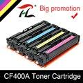 YLC CF400A CF401A 402 403A 201A совместимый цветной тонер-картридж для hp color LaserJet Pro M252dn M252n MFP M277dw M277n M274n