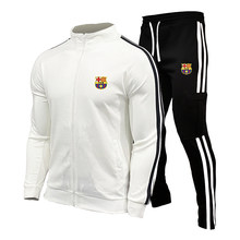 Koszulki piłkarskie zestawy mężczyźni nowy zestaw piłkarski Futbol kurtki do biegania dla dorosłych i dzieci mężczyźni sport szkolenia dres mundury garnitur