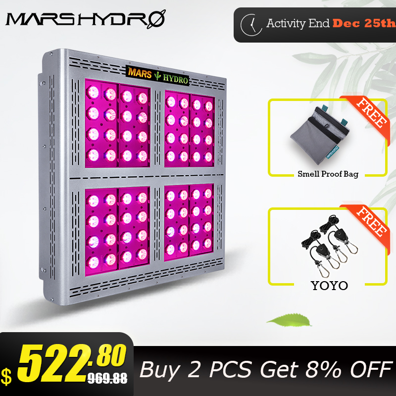 Marshydro 1600W Led Grow Light Kits Hydroponic Light For Grow Tent Box Indoor Plant Lamp Garden Light Pro II Epista Led Diode