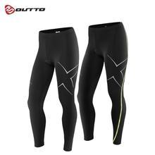 Мужские длинные штаны Outto для велоспорта, 3D гелевые мягкие компрессионные дышащие колготки для езды на велосипеде, полная длина