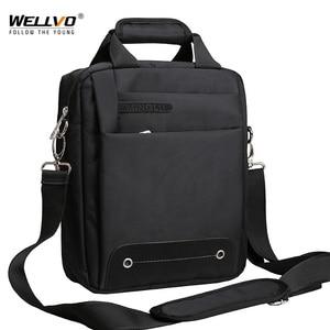 Image 1 - Hommes sac 2020 mode hommes sacs à bandoulière de haute qualité Oxford ceinture décontractée sac de messager affaires hommes fermeture éclair sacs de voyage XA157ZC