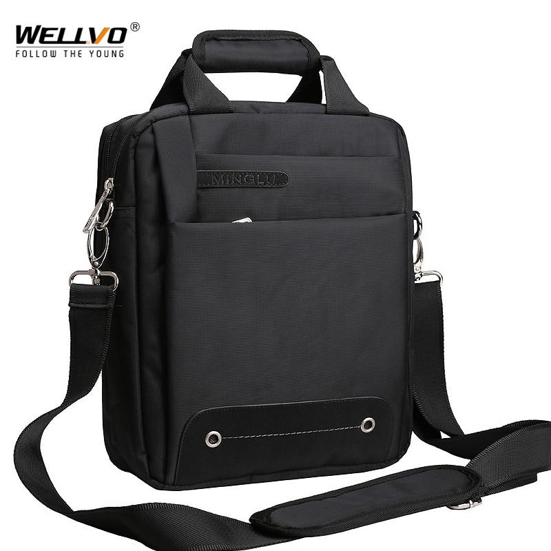 Men Bag 2019 Fashion Mens Shoulder Bags High Quality Oxford Casual Belt Messenger Bag Business Men's Zipper Travel Bags XA157ZC