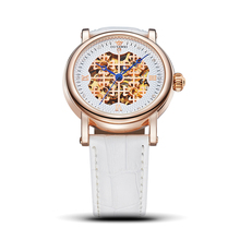 OUYAWEI Classic Large Dial Woman Mechanical Watches Ladies L