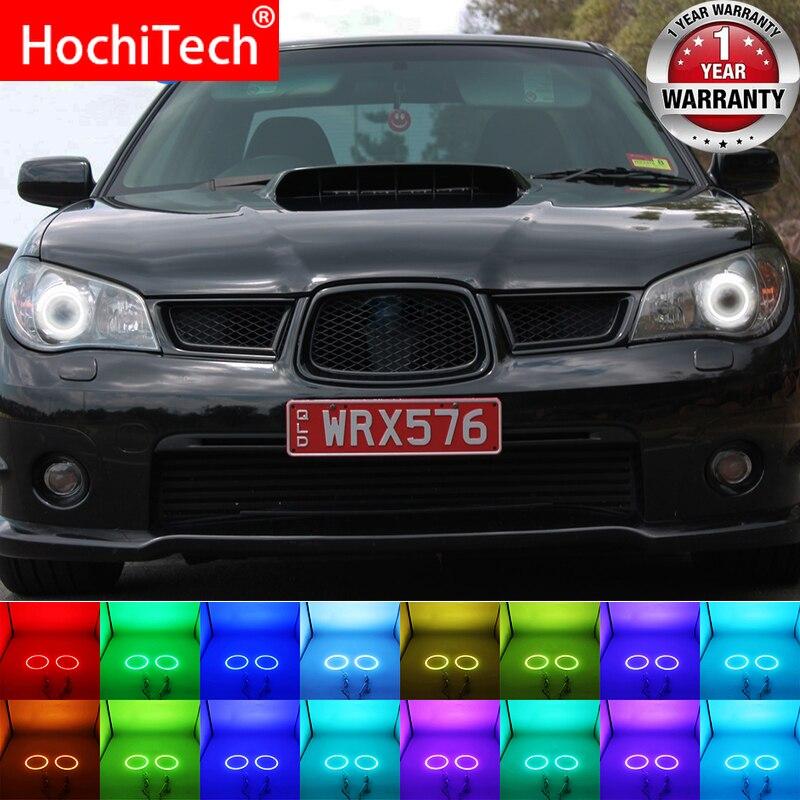 Headlight Angel Eye Xenon White 3528 LED Halo Rings for 2008-2012 Subaru STI