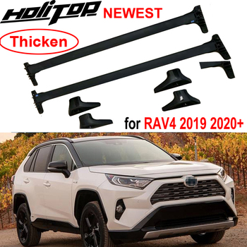 Thicken transversal roof rack roof rail bar cross bar for Toyota RAV4 2019 2020, real slap up quality,made in famous big factory