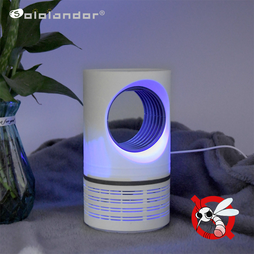Newest Led Muggen Killer Lamp Uv Nachtlampje Usb Insect Killer Bug Zapper Muggenval Lantaarn Muggenmelk Lamp Voor Dropshipper