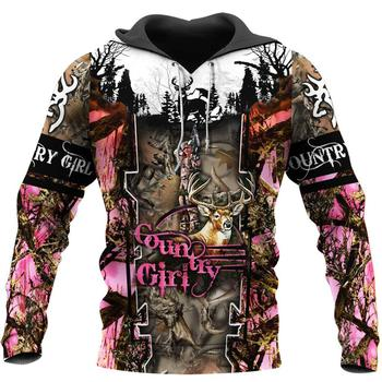 Country Girl Camo Full 3D Print - Sweatshirt, Hoodie, Pullover 1