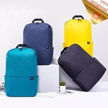 Оригинальный рюкзак Xiaomi Mi 20 л, вместительная Мужская и женская сумка для ноутбука 15,6 дюймов, городской рюкзак для отдыха, цветная Спортивная нагрудная сумка