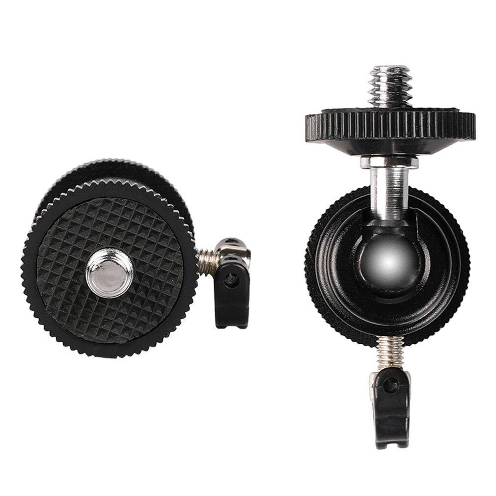 2019 Metal Photography Light Bracket Phone Head 1/4 Mini Hot Shoe Ball Head Flash Bracket Holder Mount Screw For Camera Tripod
