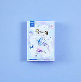 52mm*80mm Sea Sound Paper Greeting Card Lomo Card(1pack=28pieces)