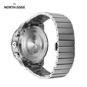Image 2 - オリジナル北エッジメンズ gavia 2 smart watch ビジネス時計の高級フル鋼高度計コンパスダイビングスポーツ防水時計