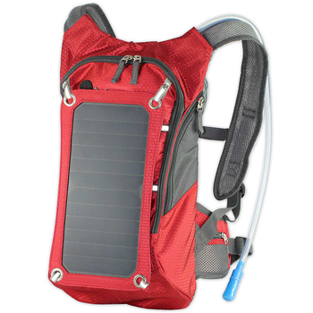 1pc Solar Backpack Lightweight Practical Creative USB Charging Backpack Pack Solar Backpack for Outdoor Travel Riding