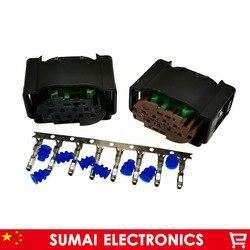 8 Pin 4F0 972 708 Auto ACC Radar módulo plug connector, 1534229 8 P plugue do sensor de carro para BMW, Mercedes-Benz, VW, Audi etc carro