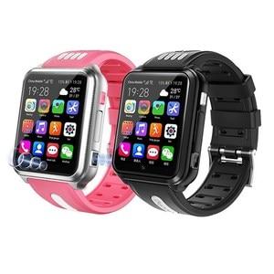 4G smart watch SIM card del telefono studente bambino video di chiamata impermeabile Android wifi Internet Scaricare APP GPS di POSIZIONAMENTO sos di allarme