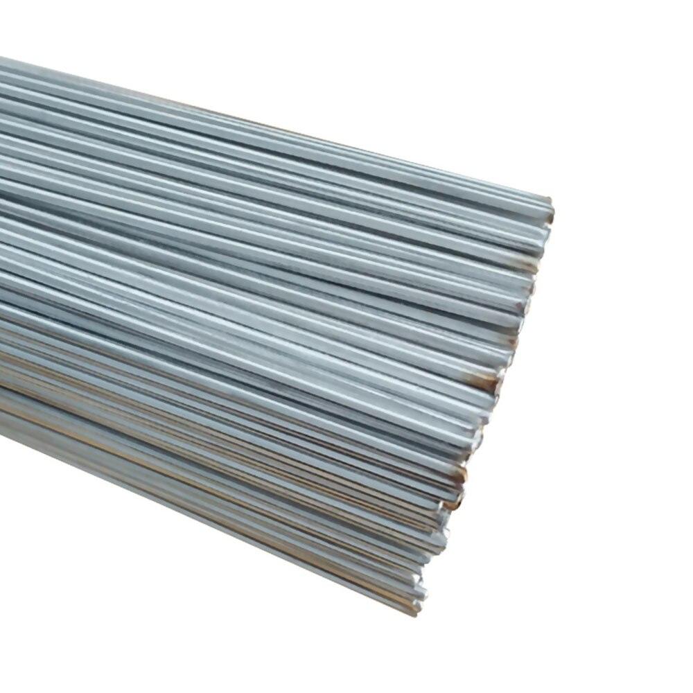 10Pcs/Set Low Temperature Easy Melt Aluminum Welding Rods Weld Bars Cored Wire Rod For Soldering Aluminum No Need Solder Powder
