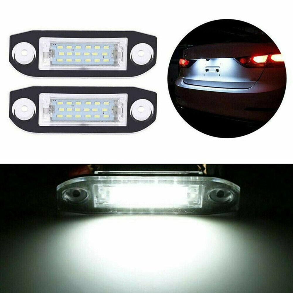 DC 12V License Plate Light 30634190 30753839 31253006 Bulbs Replacement Car