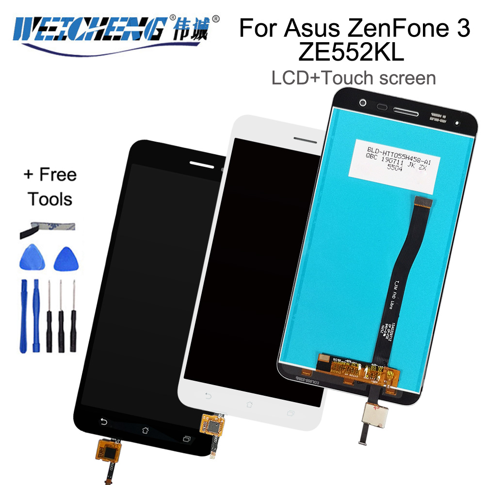 For <font><b>Asus</b></font> <font><b>ZenFone</b></font> <font><b>3</b></font> <font><b>ZE552KL</b></font> <font><b>LCD</b></font> <font><b>Display</b></font> Panel Touch Screen Digitizer Assembly For <font><b>ZE552KL</b></font> Z012D Z012DC Z012DA <font><b>LCD</b></font> image